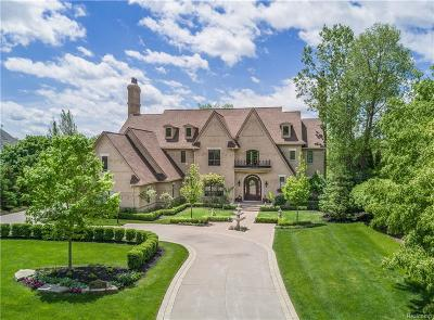 Bloomfield Hills Single Family Home For Sale: 3054 Heron Pointe Dr
