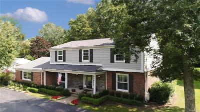 Bloomfield Hills Single Family Home For Sale: 630 Kingsley Trl