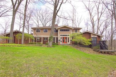 West Bloomfield Single Family Home For Sale: 7365 Cold Spring