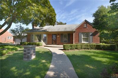 Royal Oak Single Family Home For Sale: 3930 Amherst Rd