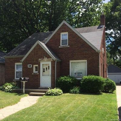 Mount Clemens Multi Family Home For Sale: 93 High St