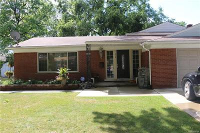 Dearborn Single Family Home For Sale: 339 Centralia St