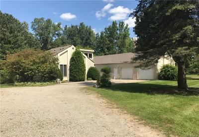 Lake Orion Single Family Home For Sale: 1500 W Silverbell Rd