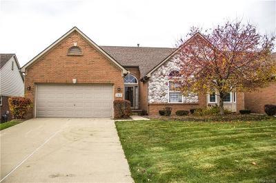 Auburn Hills Condo/Townhouse For Sale: 3831 Arbor Dr