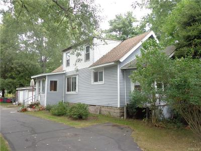 Port Huron Single Family Home For Sale: 2641 Beach Road