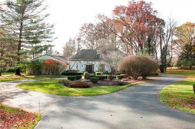 Franklin Single Family Home For Sale: 25775 Franklin Park Dr