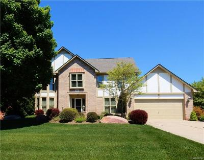Rochester Hills Single Family Home For Sale: 1361 Burhaven