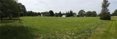 Clinton Township Residential Lots & Land For Sale: 36100 Garfield Rd