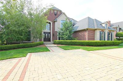 Rochester Hills Single Family Home For Sale: 1660 Lincolnshire Dr
