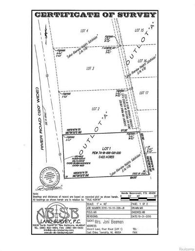 Residential Lots & Land For Sale: River Rd