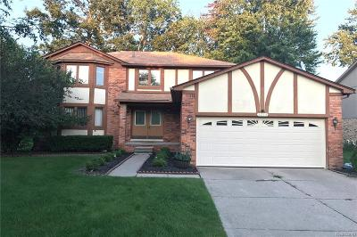 Troy Single Family Home For Sale: 6214 Smithfield Dr