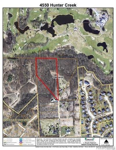 Rochester Residential Lots & Land For Sale: 4550 Hunter Creek Ln