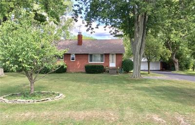 Troy Single Family Home For Sale: 3356 Alpine Rd