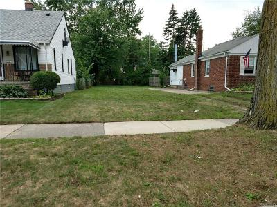 Grosse Pointe Woods Residential Lots & Land For Sale: 2133 Hollywood Ave