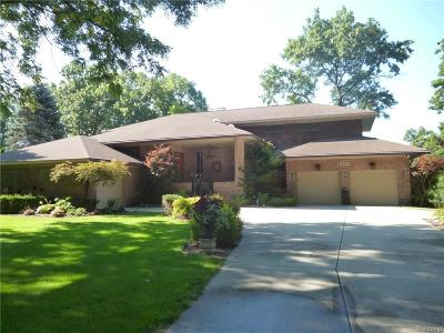 Clarkston Single Family Home For Sale: 9589 Cherrywood Rd