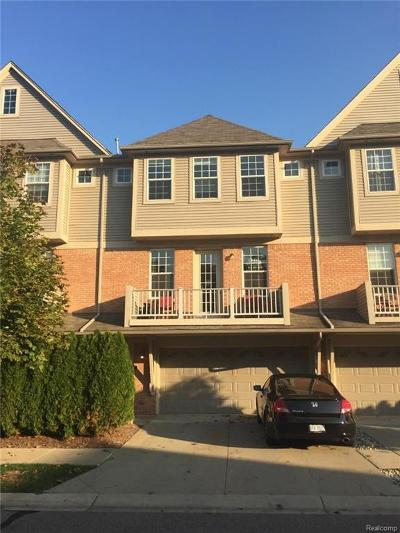 Shelby Twp Condo/Townhouse For Sale: 56648 Longhorn Dr
