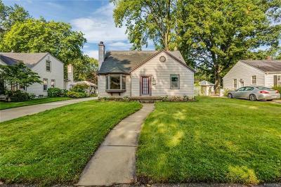 Berkley Single Family Home For Sale: 2771 Cummings Ave