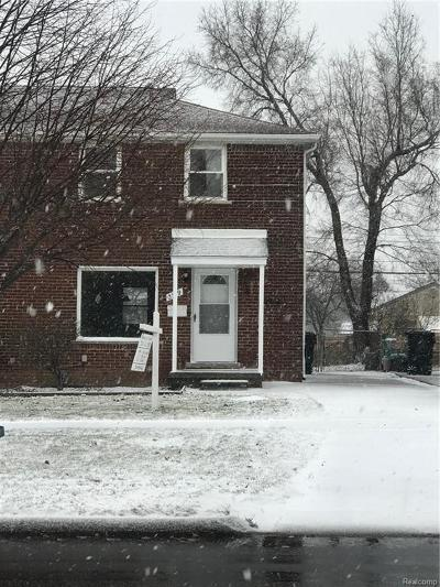 Trenton Single Family Home For Sale: 2719 West