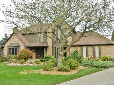Farmington Hills Single Family Home For Sale: 25200 Surrey Ln