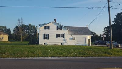 Marine City Single Family Home For Sale: 7503 Starville Rd