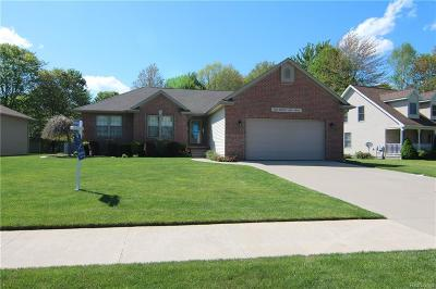 Smiths Creek Single Family Home For Sale: 2873 Hidden Lake Dr