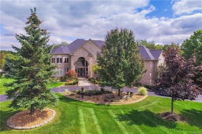 Rochester Hills Single Family Home For Sale: 1664 Croft Hill Dr