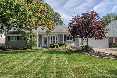 Harrison Twp Single Family Home For Sale: 24805 Crocker Blvd