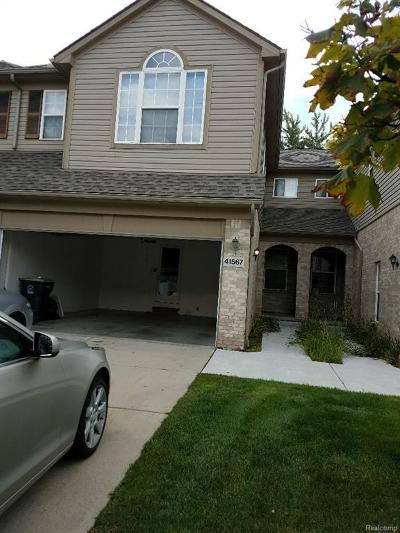 Canton Condo/Townhouse For Sale: 41567 Glade Rd