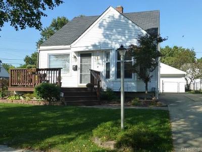 Ferndale Single Family Home For Sale: 3131 Goodrich St