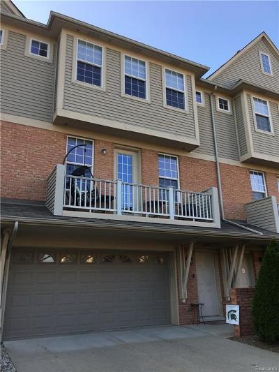 Shelby Twp Condo/Townhouse For Sale: 56659 Long Island Dr