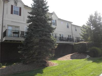 Royal Oak Condo/Townhouse For Sale: 2664 Crooks Rd