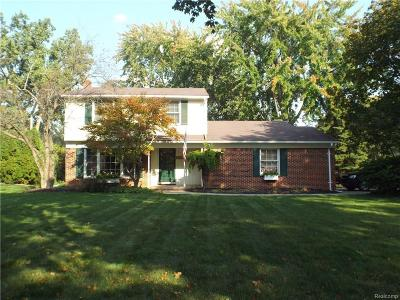 Troy Single Family Home For Sale: 3862 Ruthland
