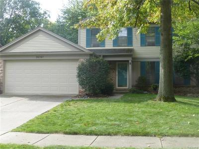 Westland Single Family Home For Sale: 36767 Dover Dr