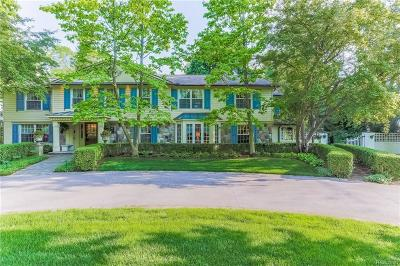 Bloomfield Hills Single Family Home For Sale: 2243 Tottenham Rd