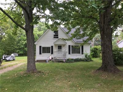 Shelby Twp Single Family Home For Sale: 46400 Vineyard Ave