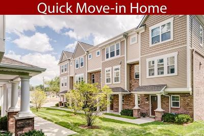 Lake Orion Condo/Townhouse For Sale: 3732 E Madison Ave