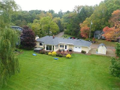 Lake Orion Single Family Home For Sale: 602 Long Lake