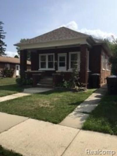 Trenton Single Family Home For Sale: 3359 4th St