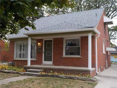 Livonia Single Family Home For Sale: 31139 Richland St