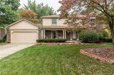 Rochester Hills Single Family Home For Sale: 1676 Black Maple Dr