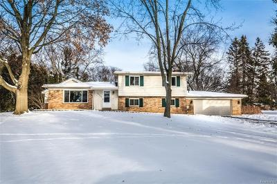 Franklin Single Family Home For Sale: 24520 S Cromwell Dr