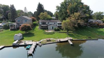 Clarkston Single Family Home For Sale: 9644 Susin Ln