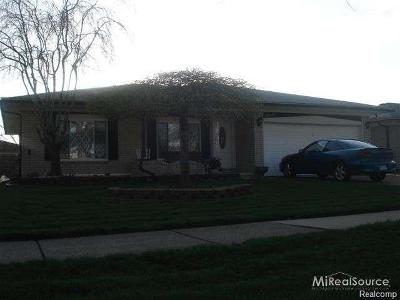 Sterling Heights Single Family Home For Sale: 35647 Maureen Drive