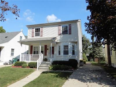 Royal Oak Single Family Home For Sale: 1044 Grove Ave