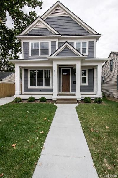 Royal Oak Single Family Home For Sale: 315 Maxwell New Construction Ave