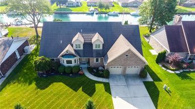 Algonac Single Family Home For Sale: 7301 Aqua Isle Dr