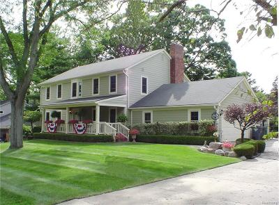 Troy Single Family Home For Sale: 5715 Andover Rd