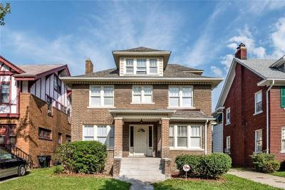 Detroit Single Family Home For Sale: 1520 Longfellow St