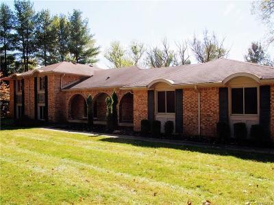Oakland Twp Single Family Home For Sale: 3966 Orion Rd