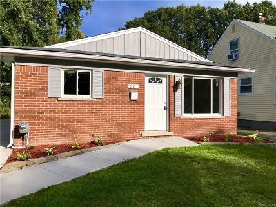 Royal Oak Single Family Home For Sale: 501 S Edgeworth Ave